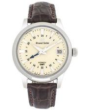 Grand Seiko elegancia 3 días GMT sbgm 221G Reloj Automático para Hombres
