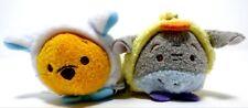 "New Disney Tsum Tsum Mini 3 ½"" Plush EASTER Pooh and Eeyore Set"