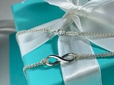 Tiffany & Co. Infinity Pendant On The Double Chain 16""