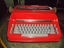 IBM Antique  Selectric I  Re-Furbished Red Vintage 1960s Typewriter