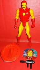 "1984 MATTEL SECRET WARS IRON MAN 4"" ACTION FIGURE EXCELLENT CONDITION  ORIGINAL!"