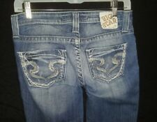 Women's BKE Big Star Maddie Jeans Buckle Size 26R Mid Rise Boot Cut Jeans EUC
