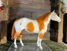 Breyer Model Horse Traditional Adios Chalky Chestnut Pinto IP CM