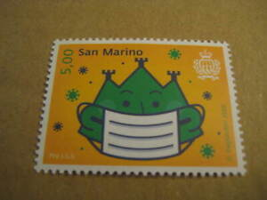 2020 San Marino Pro I.S.s. Stamp on Wear A Mask during the pandemic - Ltd Edn