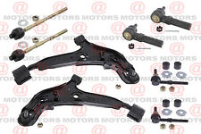 For Nissan Altima 93-96 Front Lh & Rh Lower Control Arms Tie Rods Sway Bar Link