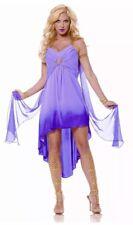 Roman Goddess Costume Adult Greek Empress Halloween Fancy Dress Small 4 -6 New