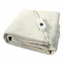 SINGLE WASHABLE ELECTRIC HEATED UNDER BLANKET 60X120 CM
