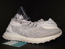 ADIDAS ULTRA BOOST UNCAGED LTD WHITE METALLIC SILVER REFLECTIVE 3M NMD R1 PK 10