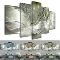 5Pcs Modern Art Canvas Oil Painting Print Picture Home Wall Decoration Unframed