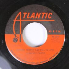 Soul 45 Clarence Carter - Slipped, Tripped And Fell In Love / I Hate To Love & R