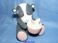 Me To You Large Blue Nose Friends Sweet Tooth Bracken Badger 40808SKU Ceramic
