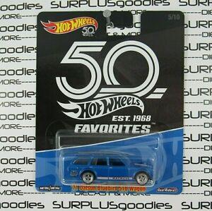 Hot Wheels 2018 50th Anniversary 1971 '71 DATSUN BLUEBIRD 510 Wagon Real Riders