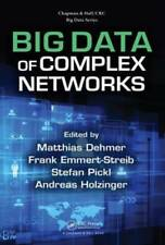 Big Data of Complex Networks by Matthias Dehmer: New
