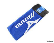 GOLF TOWEL - MIZUNO TOUR TOWEL - STAFF NAVY AND WHITE