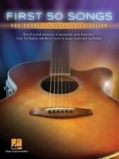 First 50 Songs You Should Fingerpick On Guitar (Hal Leonard)