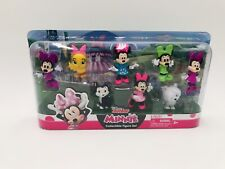 Minnie And Friends Collectible Figure Set 8 Pieces