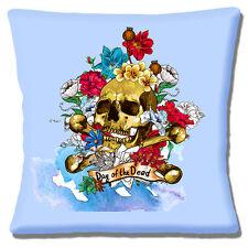 neuen Jahrgang Retro Mexikanischer Tag der Toten Totenkopf Blumen 40.6cm