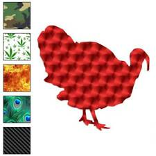 Wild Turkey Poultry Bird Decal Sticker Choose Pattern Size 746