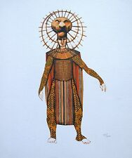Disney LION KING BROADWAY SCAR Limited Edition Giclee Concept Art