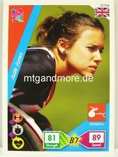 Adrenalyn XL London 2012 - #074 Jade Jones - Paralympic