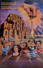 Monty Python'S The Meaning Of Life Rare 30X40 Original Movie Poster ROLLED MINT