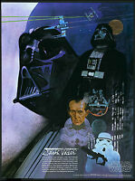 STAR WARS Movie Poster Darth Vader Jedi Empire Skywalker Coca Cola