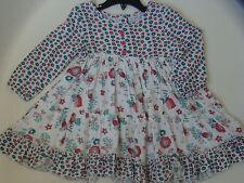 NWT LITTLE GIRLS PUMPKIN PATCH KENSINGTON GARDEN SWING DRESS SIZE 6/12 MONTHS