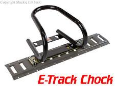 Marson Mfg. In The USA Removable Motorcycle Wheel Chock - Black ETrack Chocks