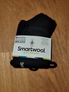 Smartwool Women's Texture Mini Boot Socks Black Size S or M