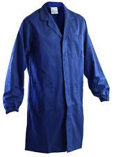 Camice da lavoro di colore blu con elastico ai polsi