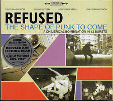 REFUSED - The Shape Of Punk To Come (Deluxe Edition) VG COND 2xCD & DVD LTD EDTN
