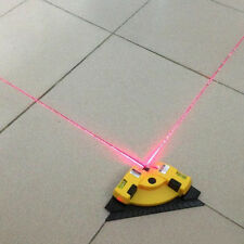 Right Angle 90 Degree Vertical Horizontal Laser Line Projection Square Level EW