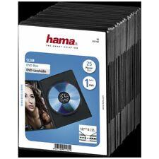 Hama Boîtiers DVD Slim noirs 1829-n