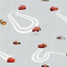 Official Cars Lightning McQueen Childrens Grey Wallpaper CR3005-3