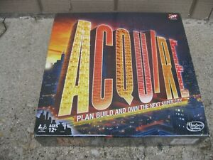 Acquire Board Game New + Sealed 2015 Hasbro Gaming Fast Ship