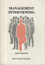 "COLIN INGLETON - ""MANAGEMENT INTERVIEWING"" - JOB INTERVIEWS - PAMPHLET (1997)"
