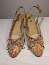 lady shoes VANELIMultivolred Pumps9 M  VERO CUOIO NWOY