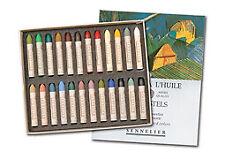 Sennelier Oil Pastels Cardboard Box Set of 24 Standard - Landscape Colors