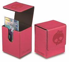 Porta Mazzo Ultra PRO Magic NEW MANA FLIP BOX PINK Rosa Simbolo Deck MTG