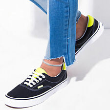 "Vans Era 59 Neon Leather ""Black/Neon"" Mens size 6.5 Women's 8 VN0A38FSMVJ"