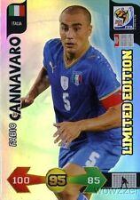 2010 Panini Adrenalyn XL FIFA World Cup Fabio Cannavaro Limited Edition Italy