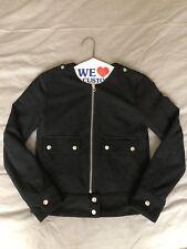 H&M Black Suede Jacket 2 NWOT