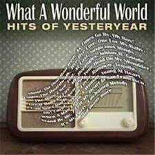 What A Wonderful World - Hits Of Yesteryear [New & Sealed] 2 CDs