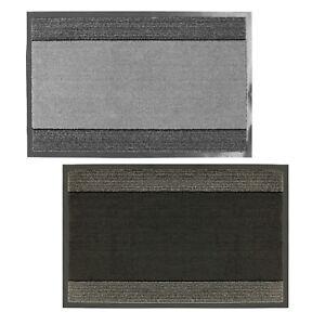 Barrier Door Mat Highly Absorbent Dirt Trapper Indoor Non Slip Washable Door Mat