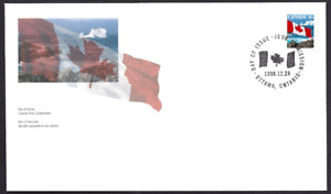Canada  # 1682     Flag Over Iceberg       Brand New 1998 Unaddressed Cover