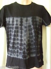 Superdry Medium Black & Charcoal Grey Tie Dye T Shirt