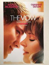 THE VOW movie poster CHANNING TATUM, RACHEL McADAMS : 11 x 17 inches