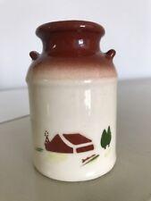 "Brock Pottery HARVEST Farmhouse Milk Can Salt Shaker 3.5"" Replacement"