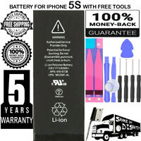 BATTERY REPLACEMENT FOR IPhone 5S 5C - SUPERIOR QUALITY CELLS / + TOOLS