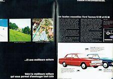 Publicité Advertising 037  1966  Ford (2p)  Taunus 12 M & 15 M  au Mans